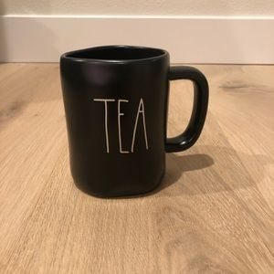 Rae Dunn Black TEA Mug NWOT